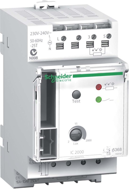 Schneider Light Sensitive Switches CCT15368