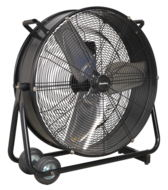 Industrial High Velocity Drum Fan, 610mm, 190-250W