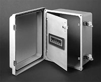 MS828 NEMA 4X/IP65 Enclosure, Panel Option, Kessler-Ellis