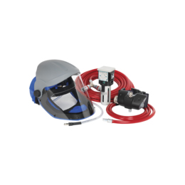 Air Fed Breathing Mask Complete Kit, SSP201K, 116psi