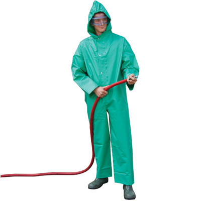 JSP Chemical Boilersuit Green, ACB020-200-300