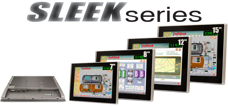 SLEEK Series Industrial Monitors, 7