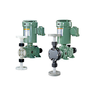 Iwaki Mechanically-Driven Diaphragm Metering Pump, LK-TC