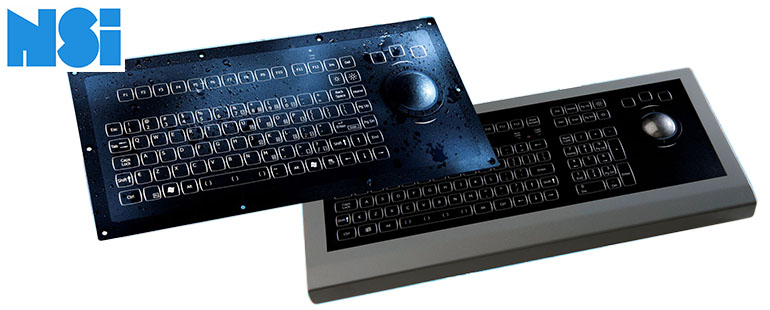 NSI Rugged Industrial Keyboards, Kessler-Ellis