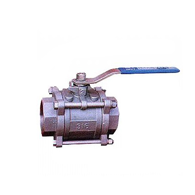 Socket Welded Ball Valve, Stainless Steel, Forged