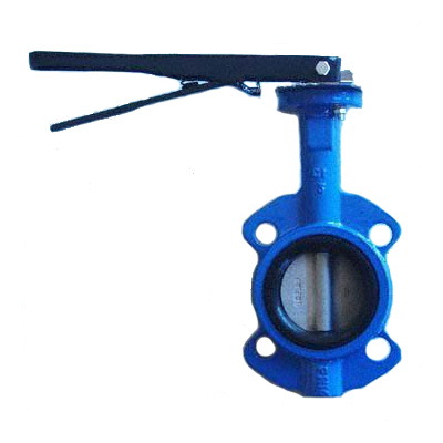 Cast Iron Butterfly Valves, Flanged, Metal-Seated